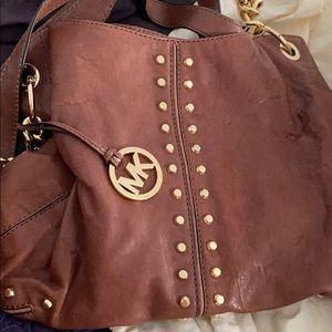 Heavily used MK big purse